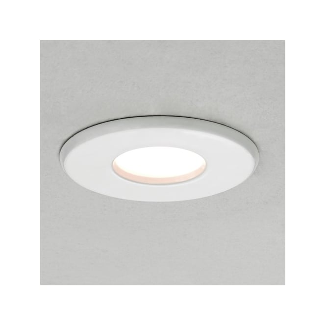 Astro Lighting 5547 Kamo white bathroom downlight, IP65
