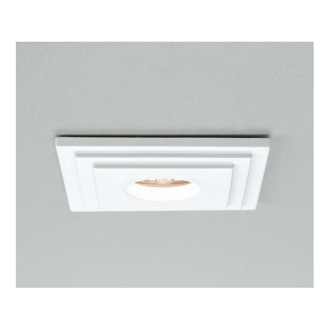 Astro Lighting 5584 Brembo Square Low Voltage Halogen Bathroom Downlight, IP65