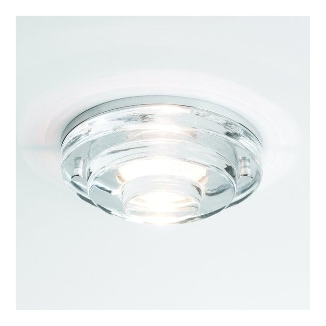 5600 Frascati Round 12v Ceiling Downlight With Glass Finish