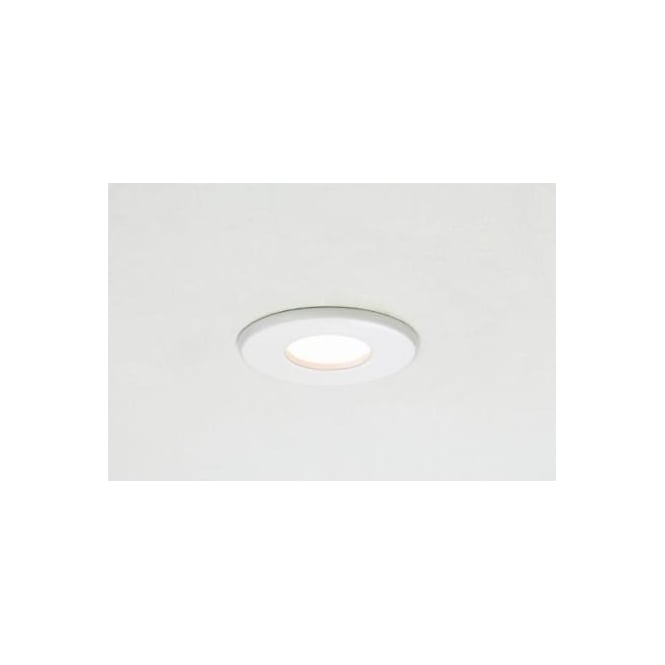 5619 Kamo White 12 Volt Round Ceiling Downlight Fire Rated