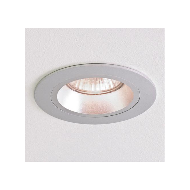 Astro Lighting 5635 Taro Round Brushed Aluminium Halogen Downlight
