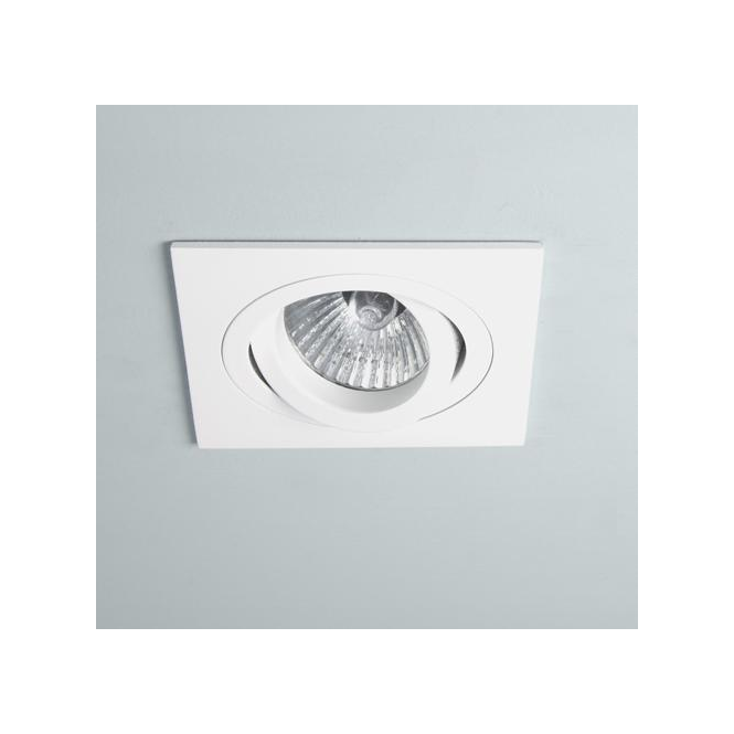 Astro Lighting 5642 Taro Square Adj White Halogen Downlight