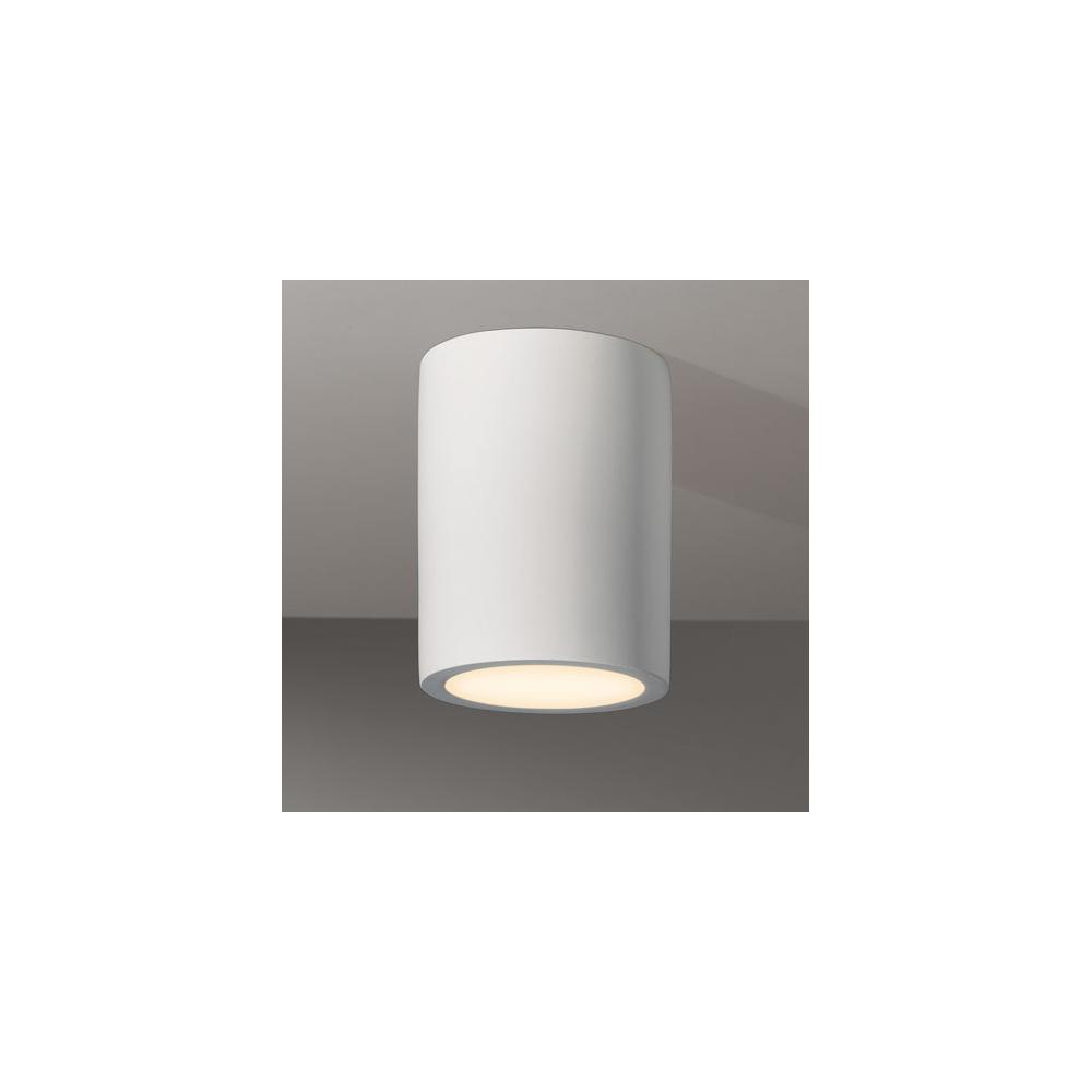 astro lighting 5646 osca 140 round white small flush ceiling light