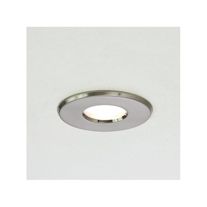 Astro Lighting 5660 Kamo Brushed Nickel Bathroom Downlight IP65