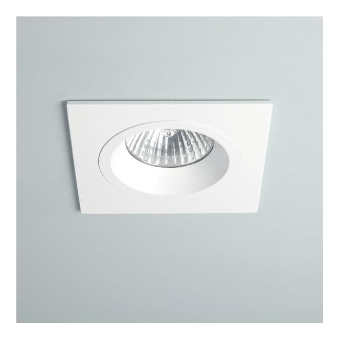 Astro Lighting 5674 Taro Square White Downlight Fire Rated