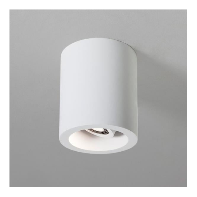 Astro Lighting 5685 Osca 140 Round Adjustable Plaster Finish Flush Downlight