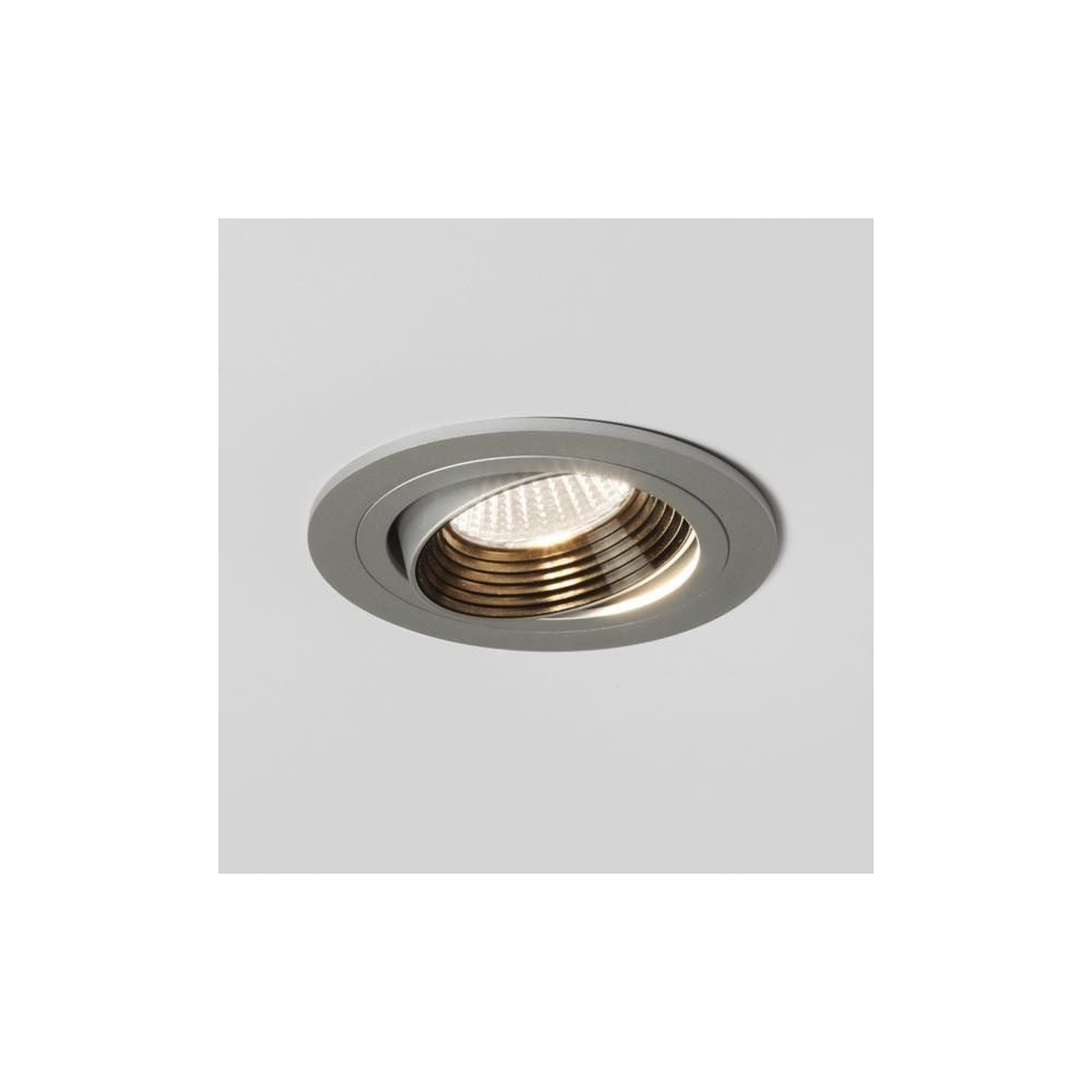 astro lighting 5692 aprilia round adjustable led ceiling spotlight in aluminium finish. Black Bedroom Furniture Sets. Home Design Ideas