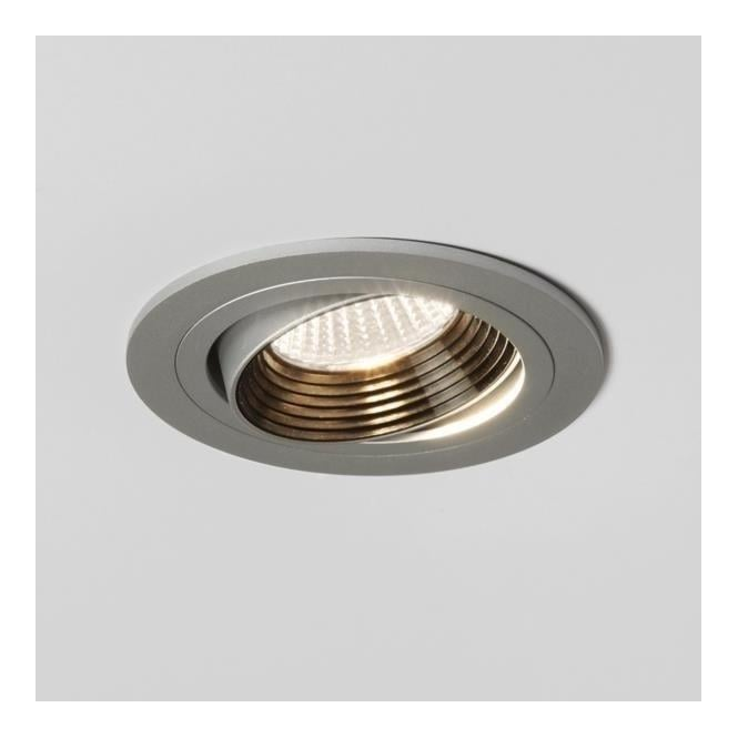Astro Lighting 5692 Aprilia Round Adjustable LED Ceiling Spotlight in Aluminium Finish
