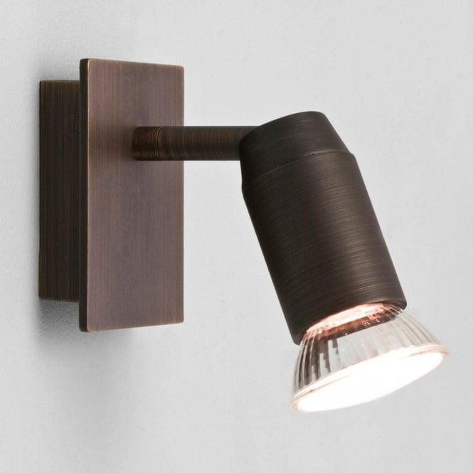 Astro Lighting 6119 Magna Bronze Halogen 1 Way Wall Spotlight Fitting