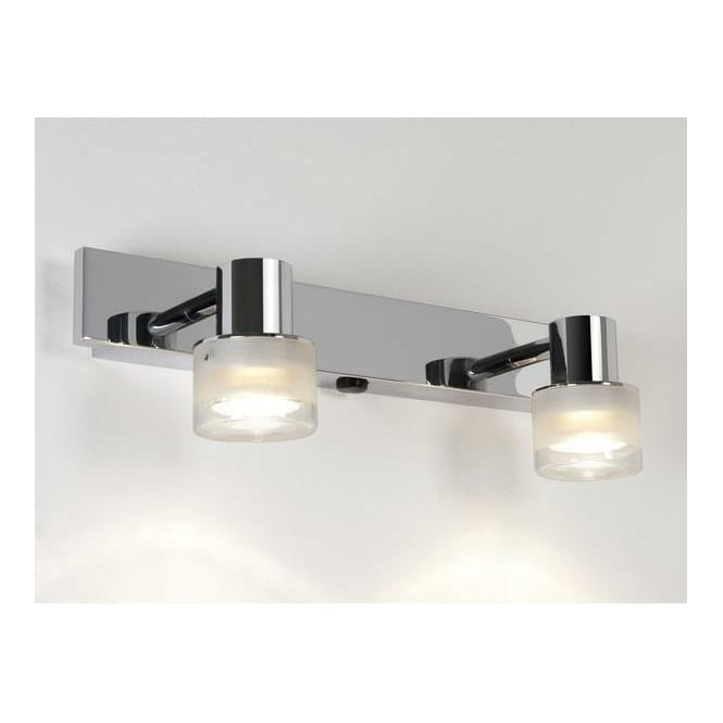 Astro Lighting 6138 Tokai Twin Spot Wall Light In Polished Chrome