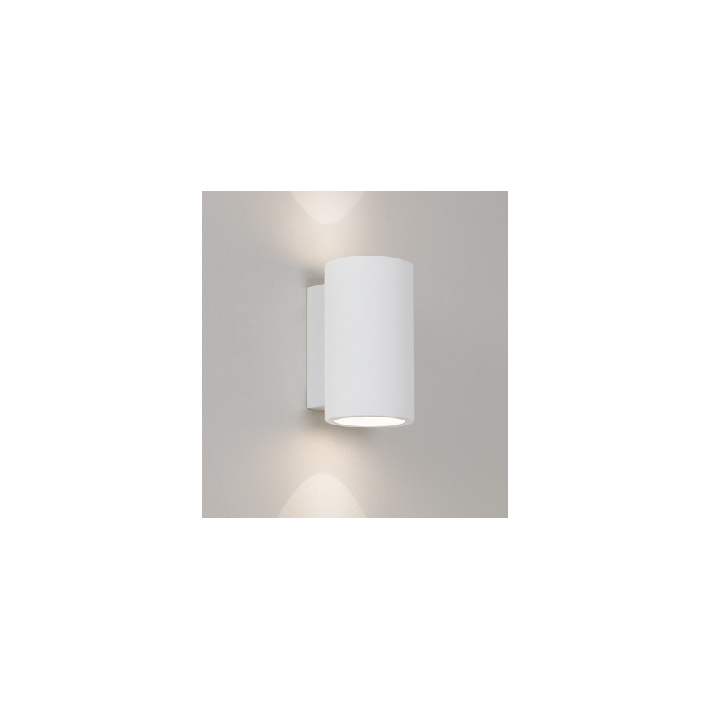 Wall Lights Low Energy : Astro Lighting 7001 Bologna 160 Low Energy White Contemporary Wall Light - Lighting from The ...