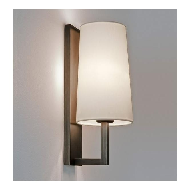 Astro Lighting 7023 Riva 350 Contemporary Wall Light in Bronze
