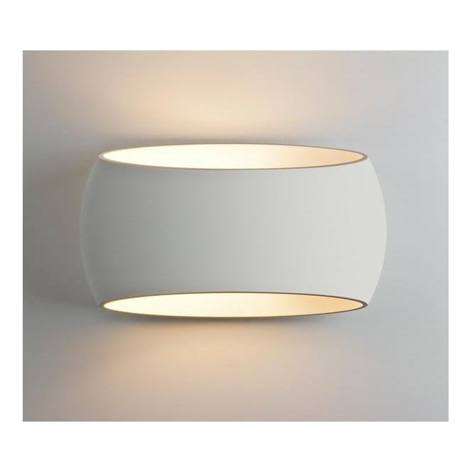 Astro Lighting 7074 Aria 300 1 Light Ceramic Wall Light
