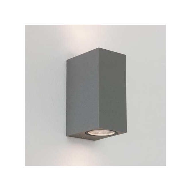 Astro Lighting 7127 Chios 150 Exterior Wall Light in Painted Silver