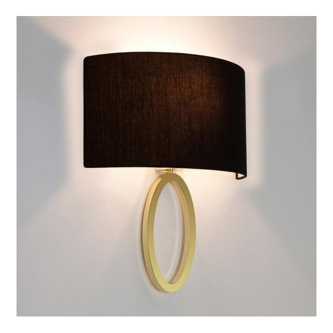 Astro Lighting 7171 Lima 1 Light Wall Light in Matt Brass