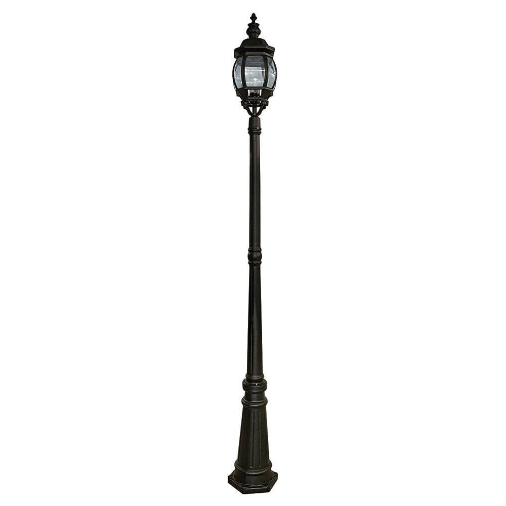 searchlight 7174 bel air 1 light outdoor post lamp. Black Bedroom Furniture Sets. Home Design Ideas
