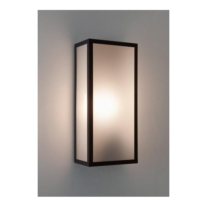 Astro Lighting 7187 Messina Rectangular Exterior Wall Light Frosted Glass