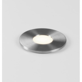 7199 Terra 28 Round LED Stainless Steel Outdoor Groundlight