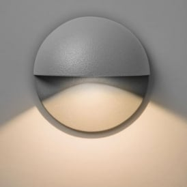 7265 Tivoli LED Exterior Painted Silver Finish Wall Light