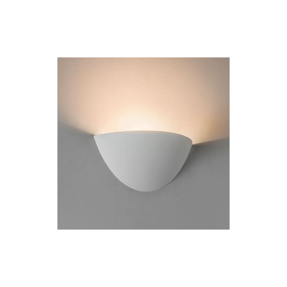 Wall Uplighter Lamps : Astro Lighting 7376 Kastoria Modern Wall Uplighter in Plaster Finish - Lighting from The Home ...