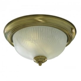 7622-11AB Flush fitting with Antique Brass Trim