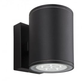 8085 Vegas LED 2 Light Exterior Wall Light In Black Finish