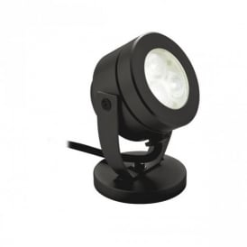 8241BK Black Waterproof LED Wall And Spike Spotlight, IP68
