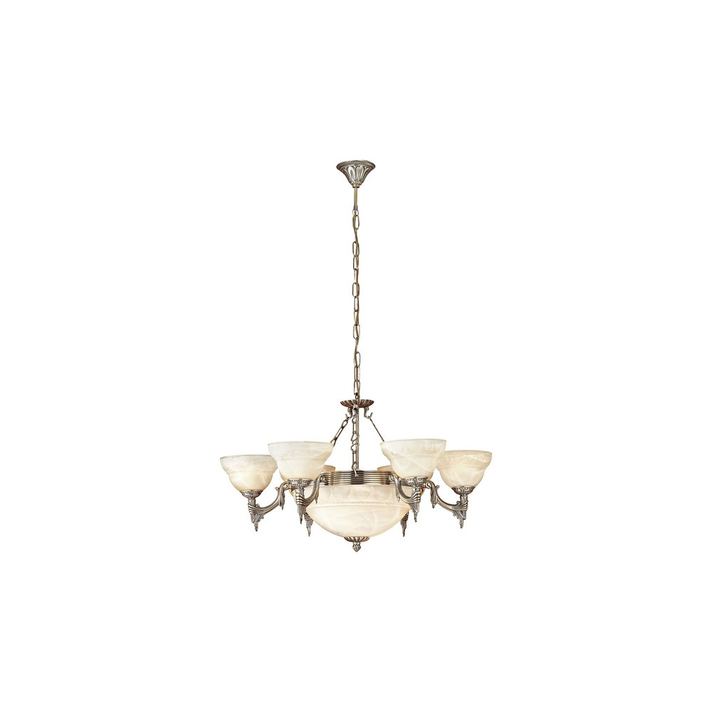 Eglo Lighting 85858 Marbella 9 Light Chandelier Ceiling