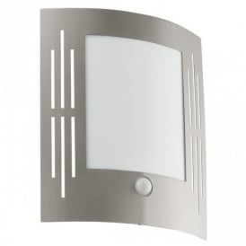 88144 City Outdoor Stainless Steel Sensor Wall Light