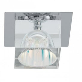 88879 Luxy 1 Light Crystal Recessed Light