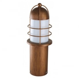 89535 Minorca Classic Steel Pedestal Lamp In Copper Finish