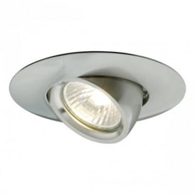 90058 Spezia1 1 Light Matt Nickel Recessed Light
