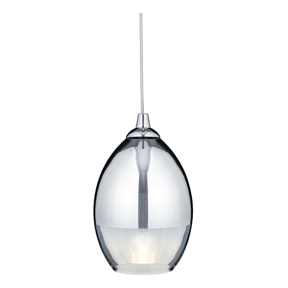 9681cc modern chrome glass pendant ceilinglight lighting Modern pendant lighting