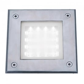9909WH Square Clear Walkover Light