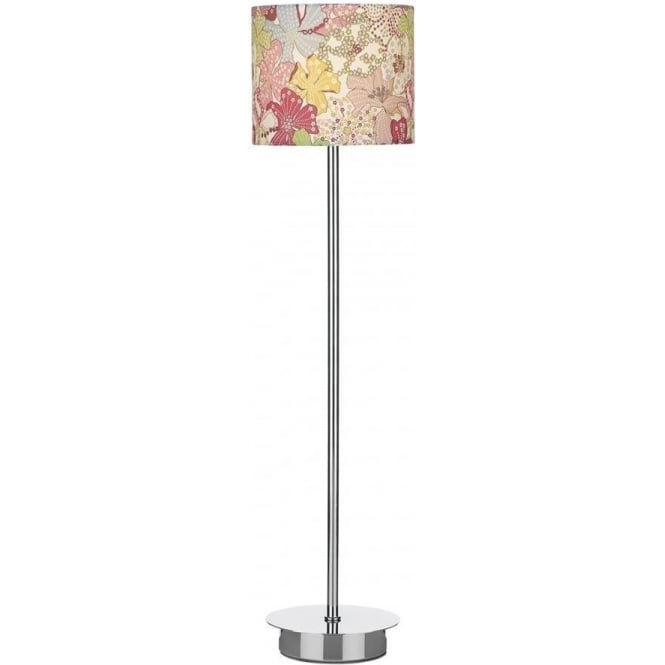 Dar Lighting Abbys Table Lamp with Tana Lawn Shade ABY91 + ABY4250