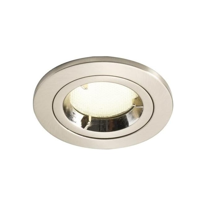 Dar Lighting ACE2045/11GU Ace Satin Chrome Fire Rated Low Energy Downlighter