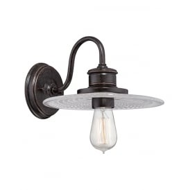 Admiral Traditional Wall Light In Imperial Bronze Finish QZ/ADMIRAL1 IB