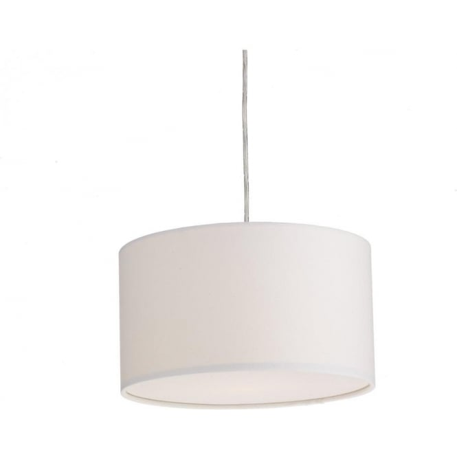 Dar Lighting ALM1215 Almeria Easy Fit Small Round Ivory Shade