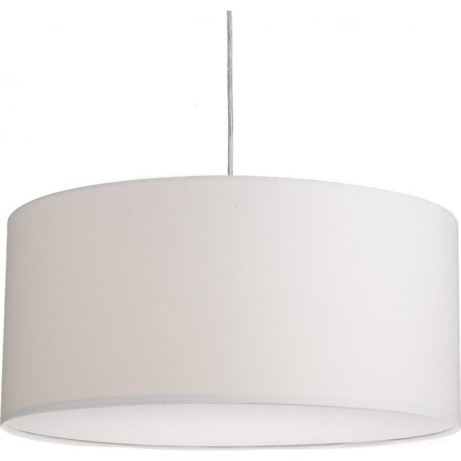 Dar Lighting ALM2015 Almeria Easy Fit Large Round Ivory Shade