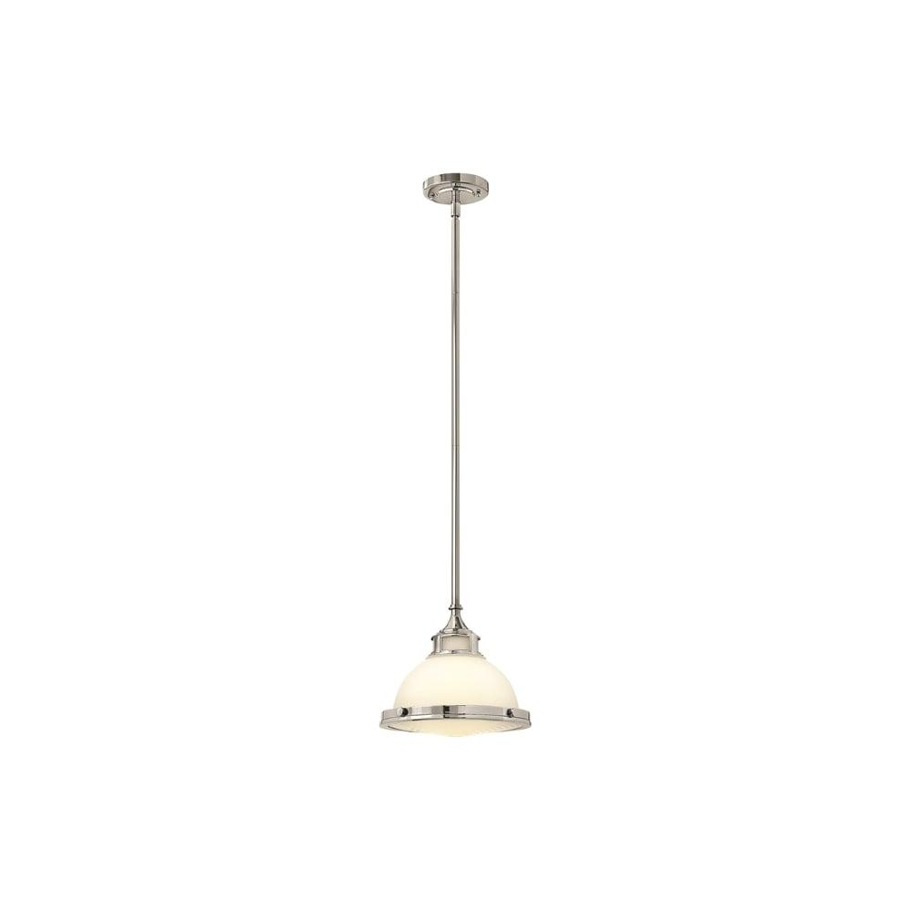 buy online 6e8ca bb1aa Hinkley Amelia Vintage Mini Ceiling Pendant Light In Chrome Finish  HK/AMELIA/P/S CM