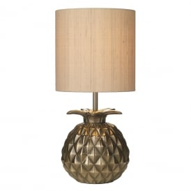 Ananas Decorative Table Lamp Base In Bronze Finish ANA4263
