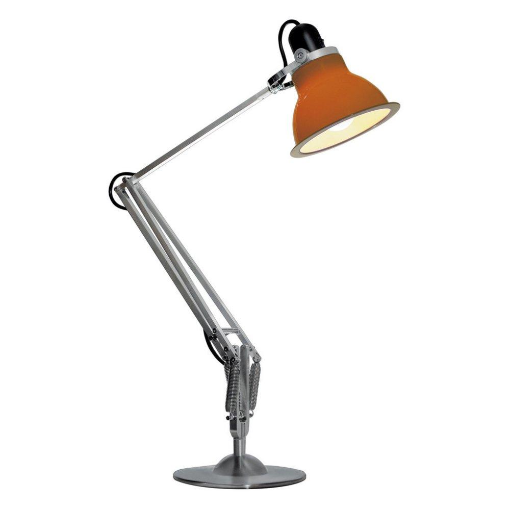 anglepoise type 1228 desk lamp in orange lighting from the home lighting centre uk. Black Bedroom Furniture Sets. Home Design Ideas