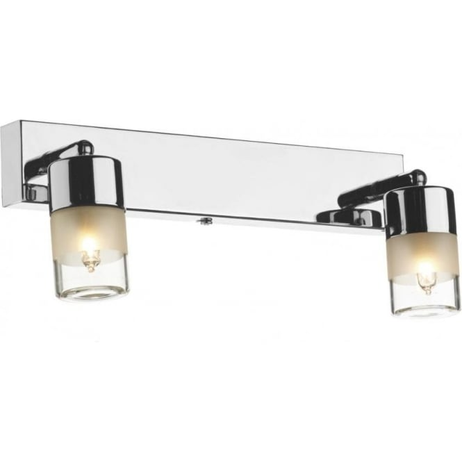 Dar Lighting Artemis 2 Lights Bathroom Wall Spotlight ART7750