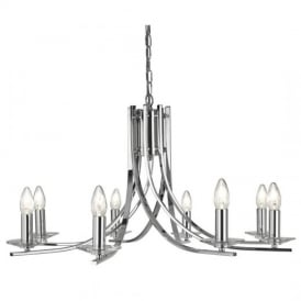 Ascona Classic 8 Light Chandelier in Chrome Finish 4168-8CC