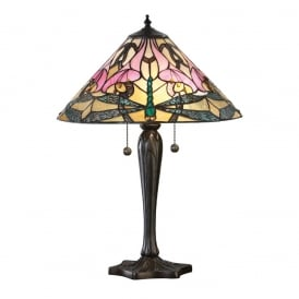 Ashton Tiffany Medium Table Lamp In Art Nouveau Style 63925