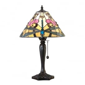 Ashton Tiffany Small Table Lamp In Art Nouveau Style 63924