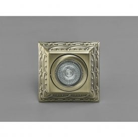 Aspen Vintage Square Downlight In Antique Brass Finish IL30847AB