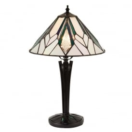 Astoria Tiffany Small Table Lamp In Art Deco Style 70365