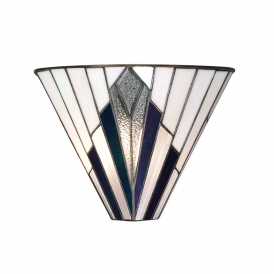 Astoria Tiffany Wall Light In Art Deco Style 63940