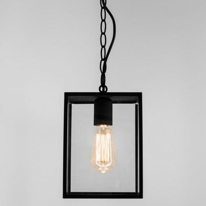 Astro Lighting Astro Homefield Outdoor Ceiling Pendant in Black Finish 7207
